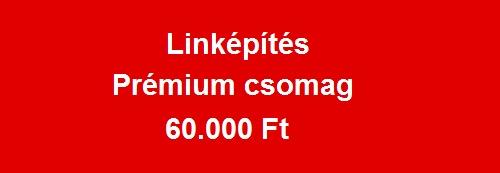 linképítés prémium csomag